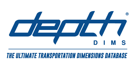 Depth Dims - The Ultimate Transportation Dimensions Database